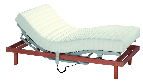 Image of an adjustable bed